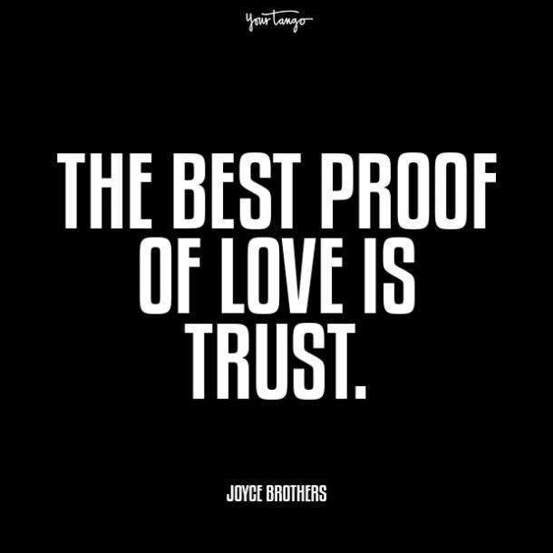 joyce brothers prove your love quotes