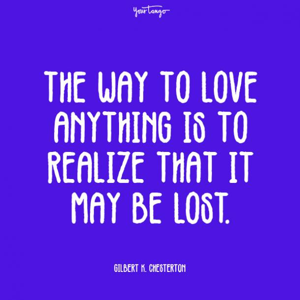 the way prove your love quotes