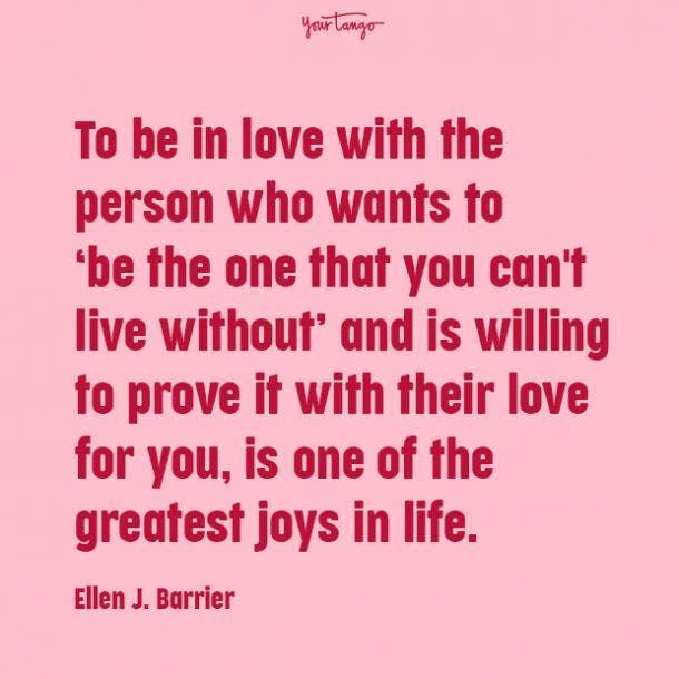 ellen j barrier prove your love quotes