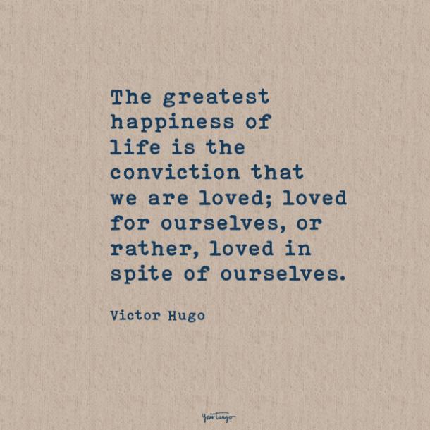 Victor Hugo sweet love quotes