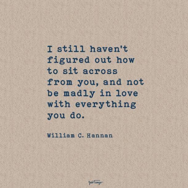 William C. Hannan sweet love quotes