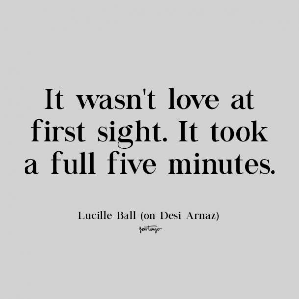 lucille ball cute love quote