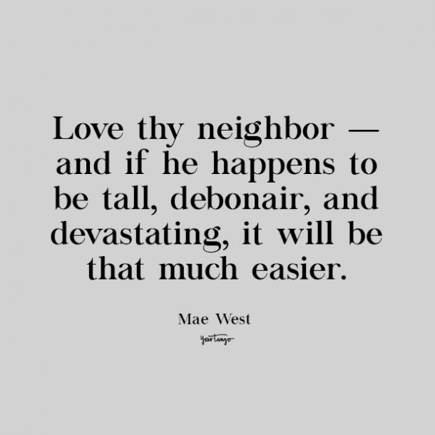mae west cute love quote