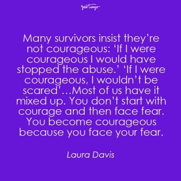 Laura Davis mental health quote