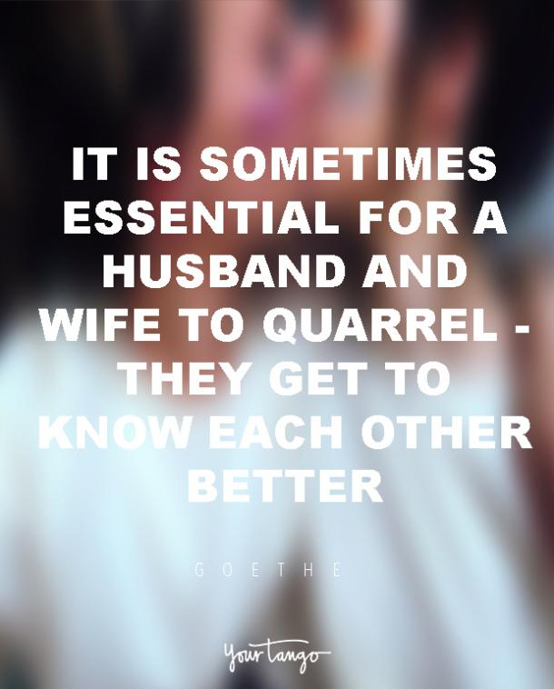 goethe marriage quote