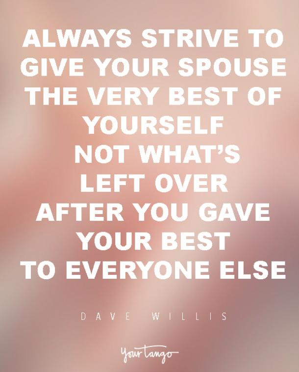 dave willis marriage quote