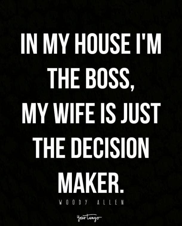 woody allen marriage quote