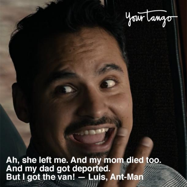 Marvel quote from Ant-man