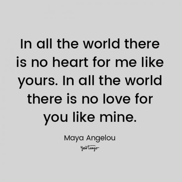 maya angelou love quote for him