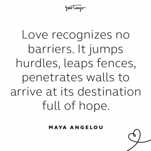 Maya Angelou stay together quote