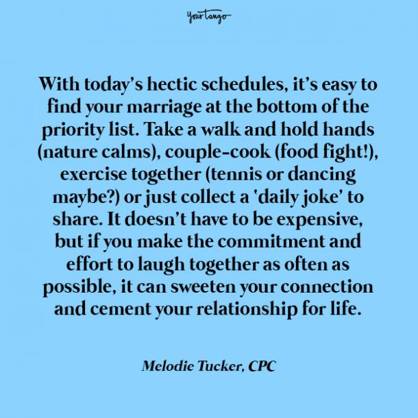 Melodie Tucker best marriage quotes