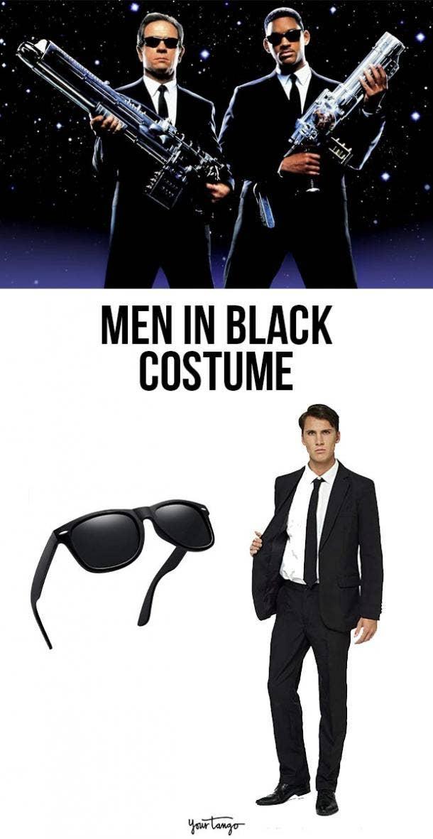 men in black last minute halloween costumes