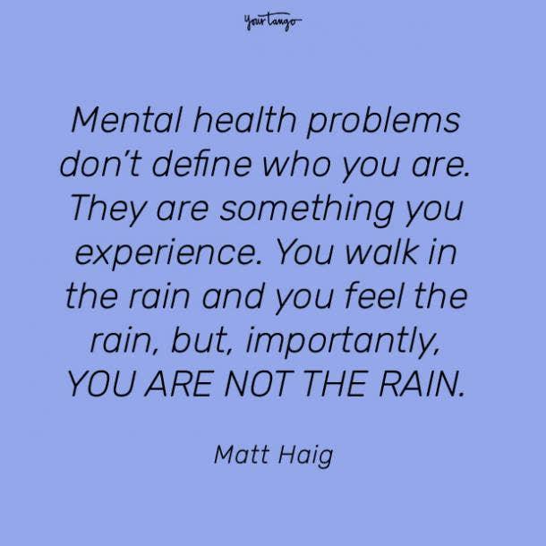 Matt Haig mental health quote