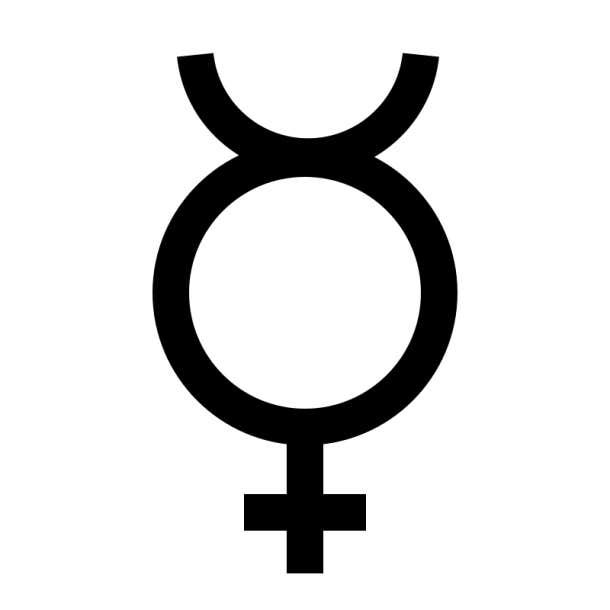 planet mercury symbol