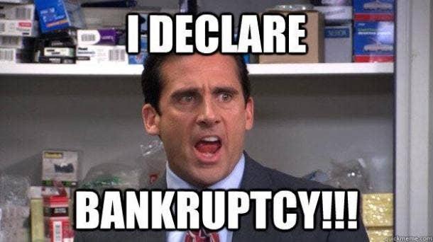 michael scott bankruptcy quote