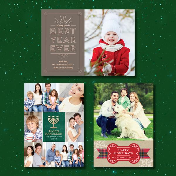 Michaels Holiday Cards