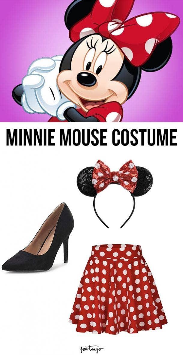minnie mouse last minute halloween costumes