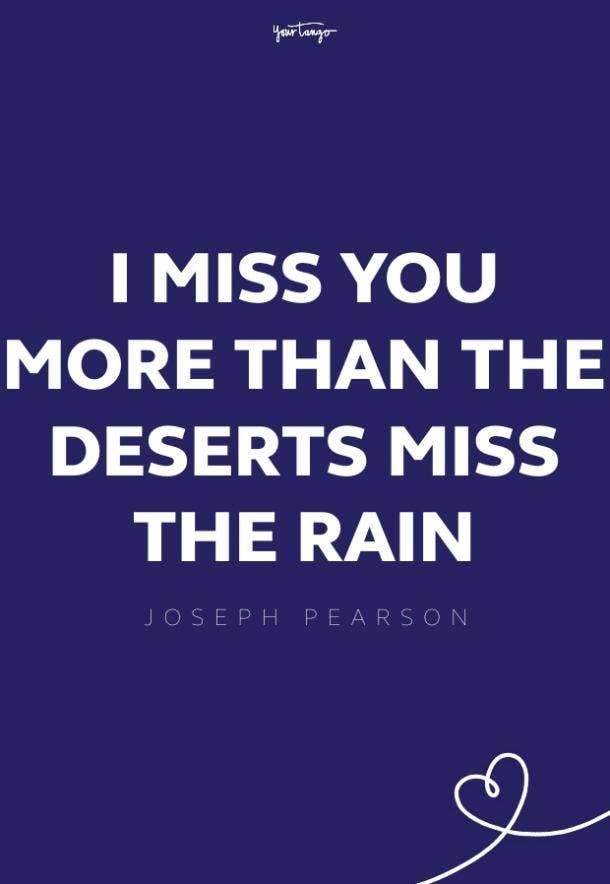 joseph pearson missing someone quote