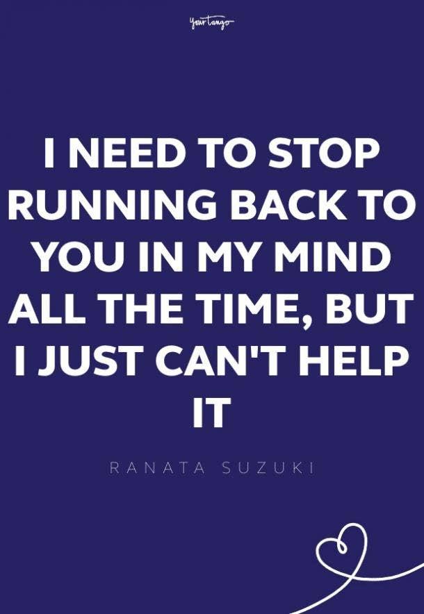 ranata suzuki missing someone quote