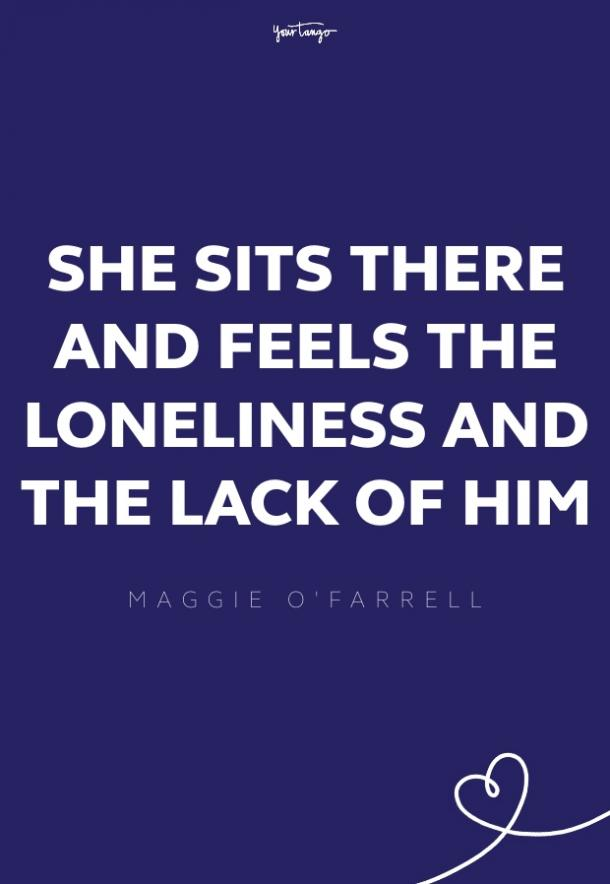 maggie o'farrell missing someone quote