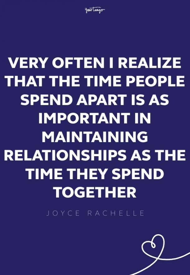 joyce rachelle missing someone quote