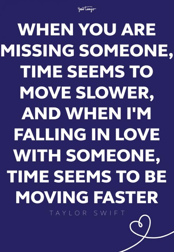 taylor swift missing someone quote