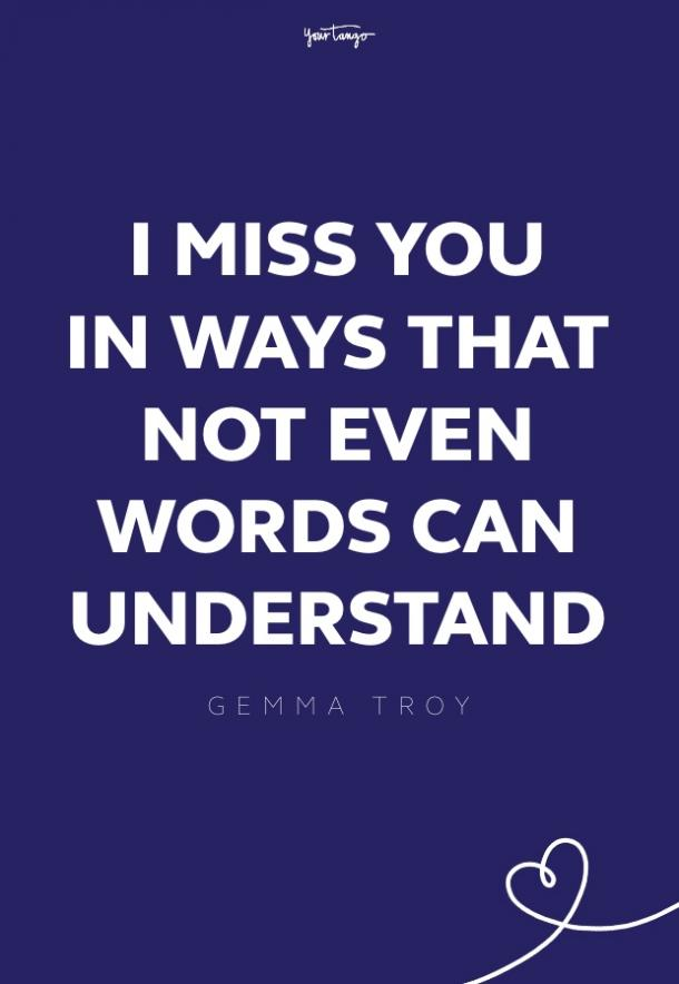 gemma troy missing someone quote
