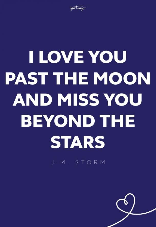 j.m. storm missing someone quote