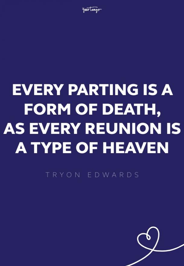 tryon edwards missing someone quote