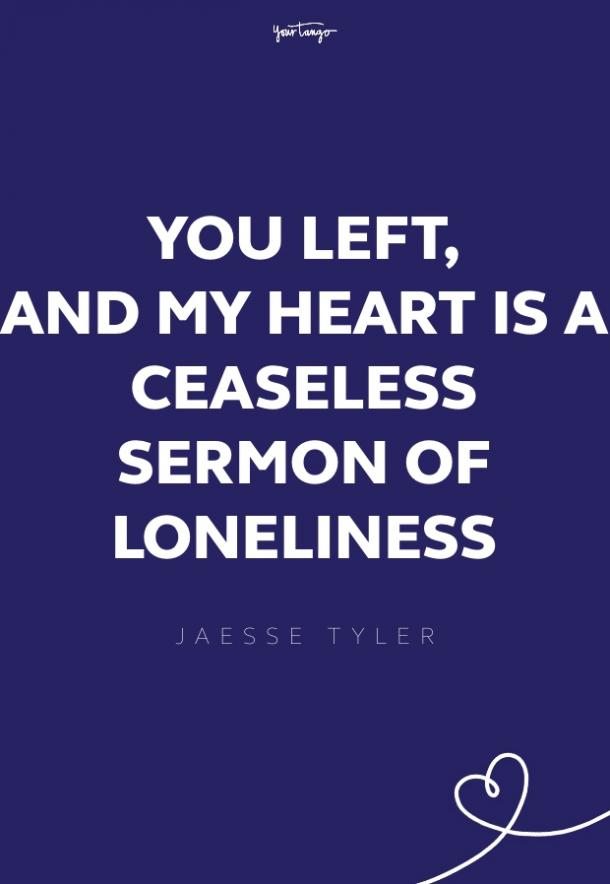 jaesse taylor missing someone quote
