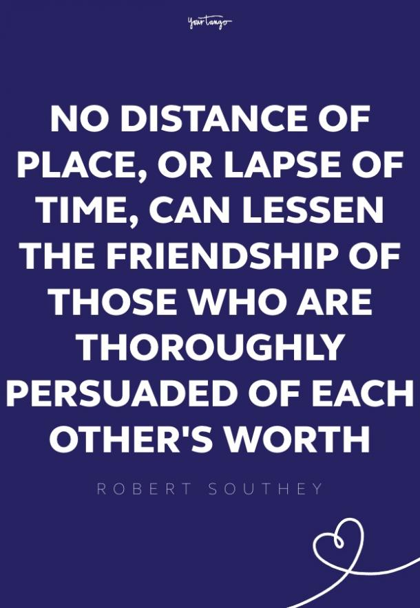 robert southey missing someone quote