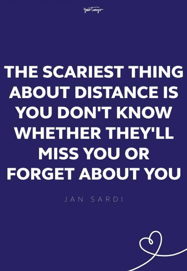 jan sardi missing someone quote