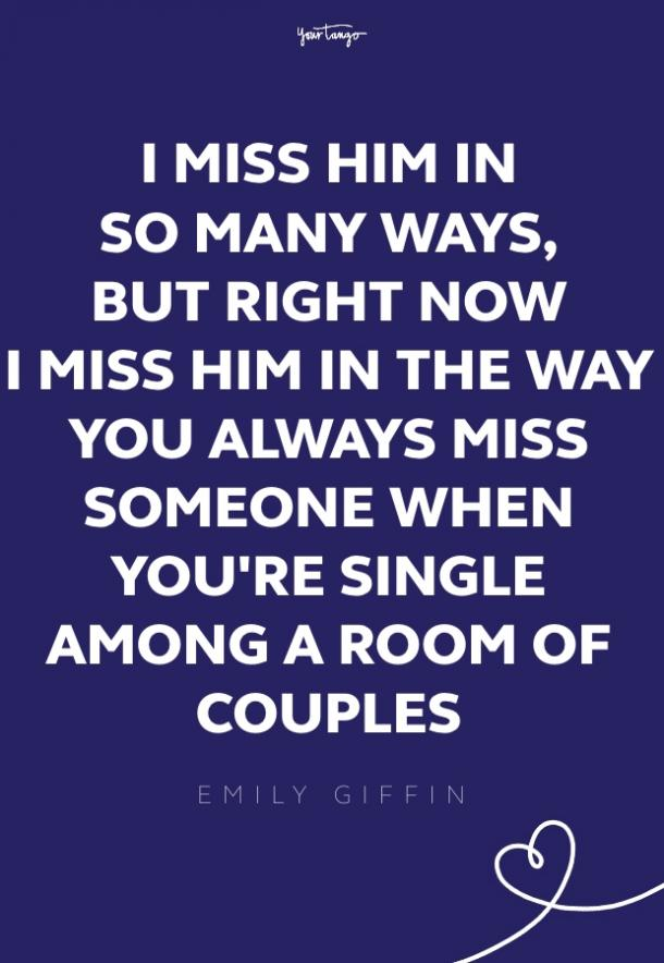emily giffin missing someone quote