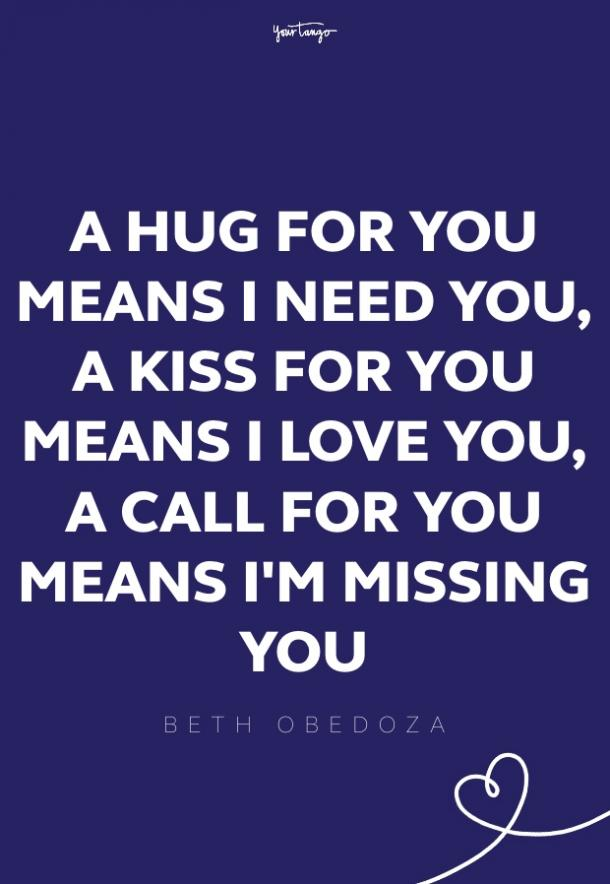 beth obedoza missing someone quote