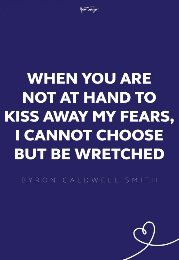 byron caldwell smith missing someone quote
