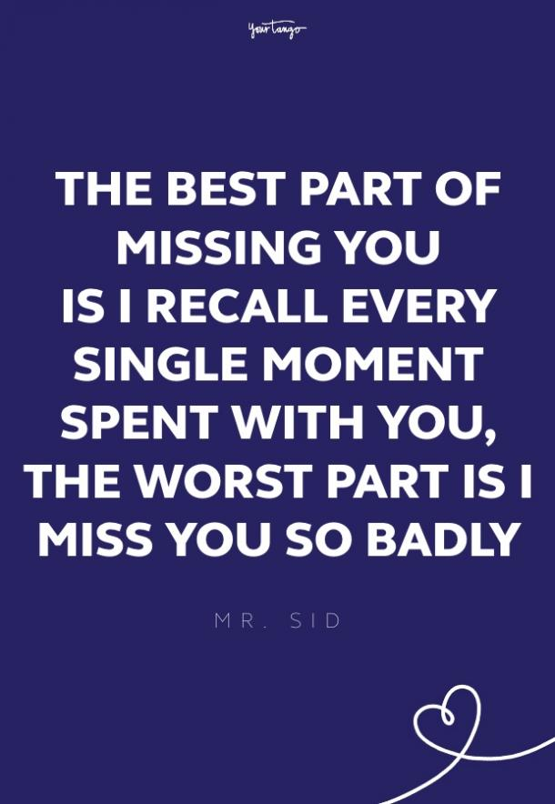 mr sid missing someone quote
