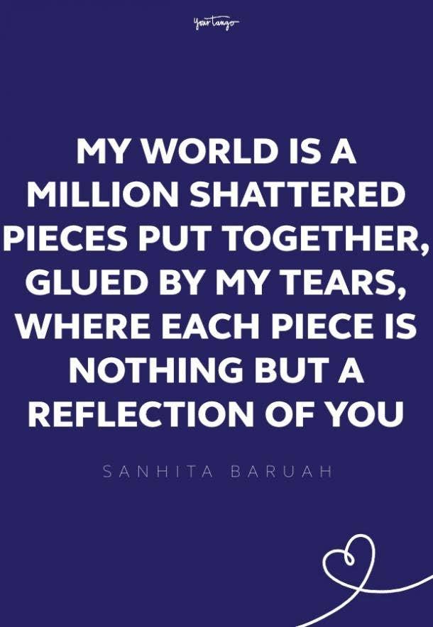 sanhita baruah missing someone quote