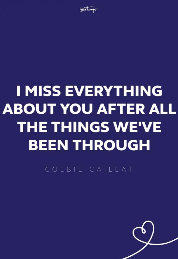 colbie caillat missing someone quote