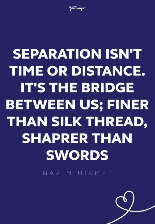 nazim hikmet missing someone quote