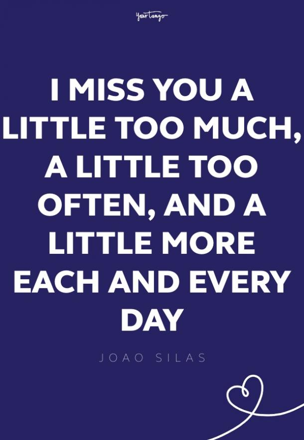 joao silas missing someone quote
