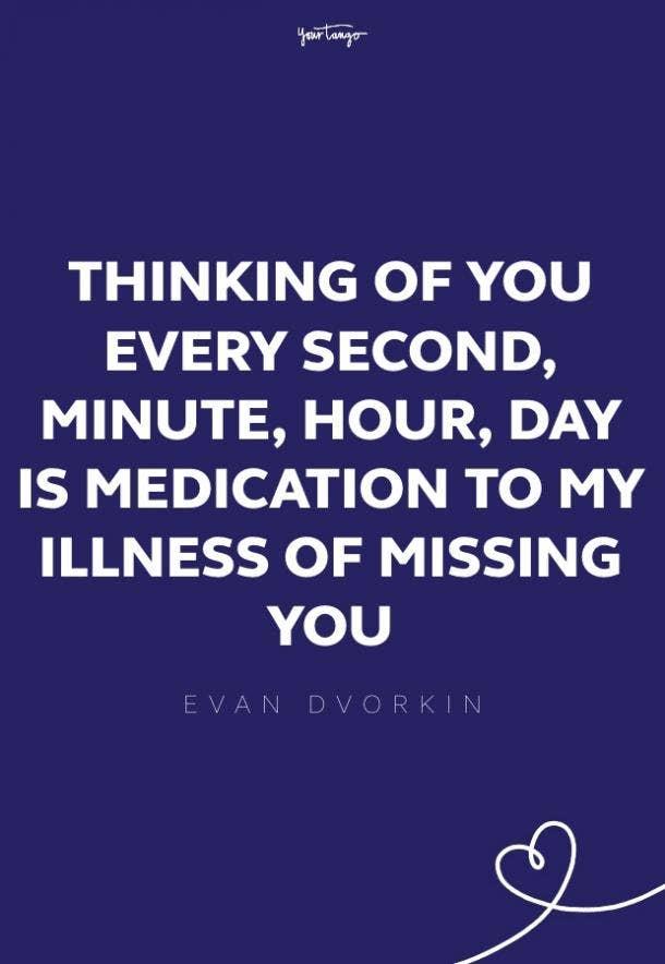 evan dvorkin missing someone quote
