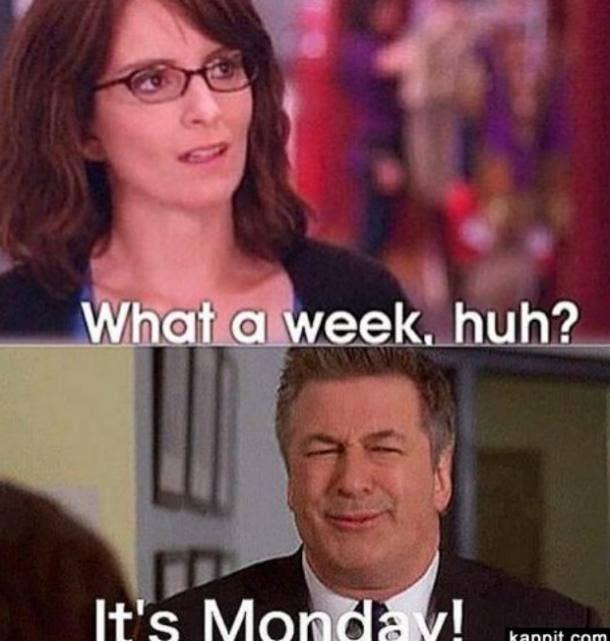 monday memes what a week