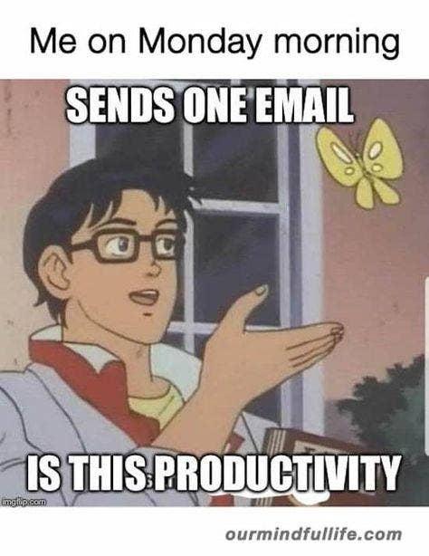 monday memes productivity