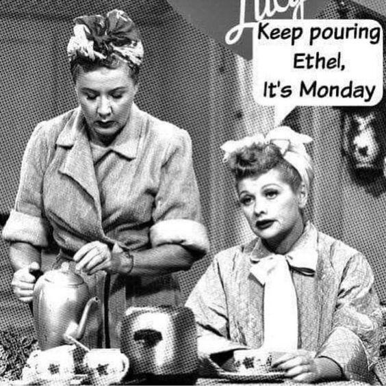 monday memes i love lucy