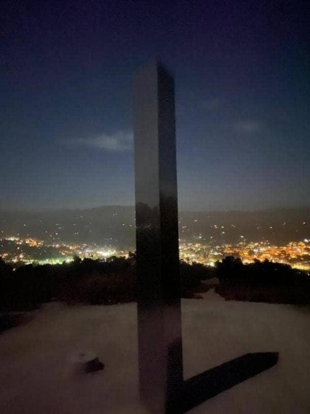 monolith back on pine mountain