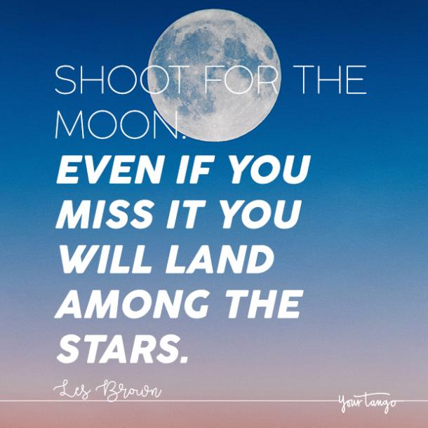 les brown moon quote