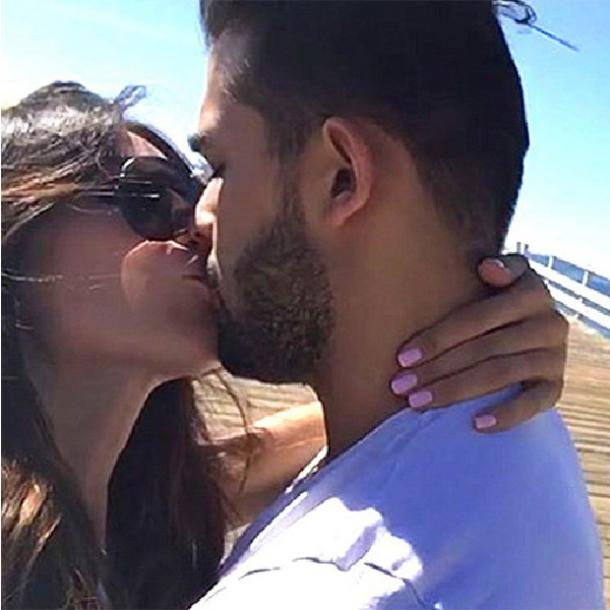 sam asghari kissing morgan osman bad girls club