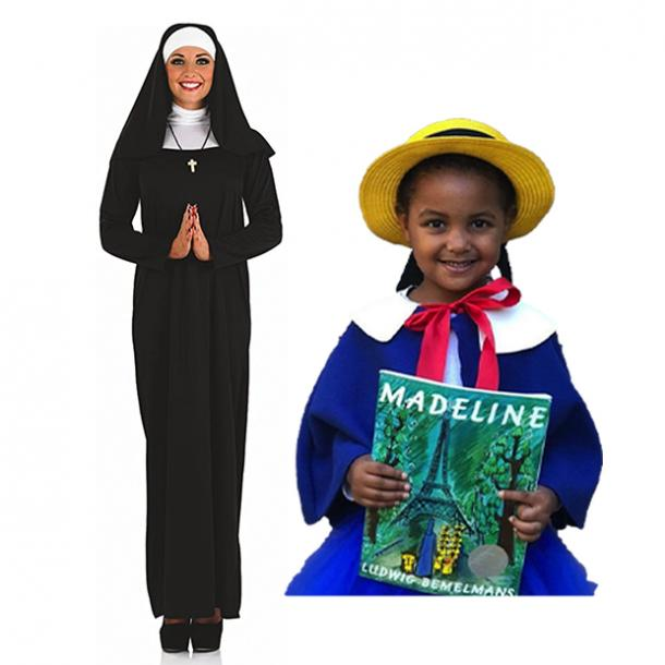 mother daughter halloween costumes madeline miss clavel