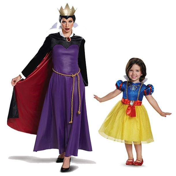 mother daughter halloween costumes snow white evil queen