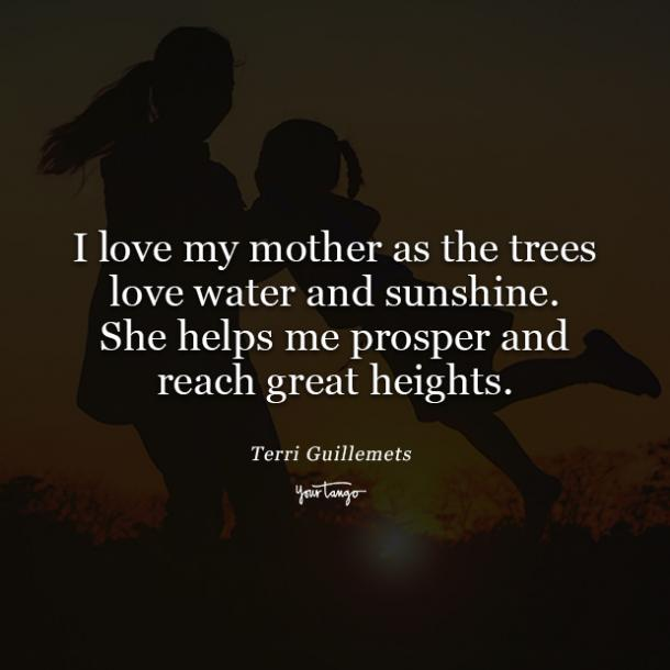 Terri Guillemets mothers day quotes from daughter